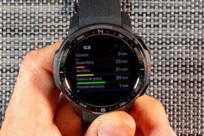 Honor Watch GS Pro - Resumen entrenamiento