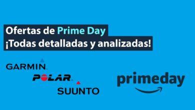 Ofertas Prime Day Garmin Polar Suunto